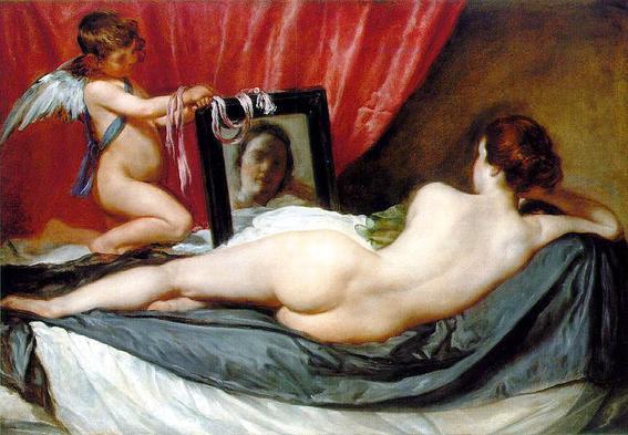 venus del espejo desnudos en el arte