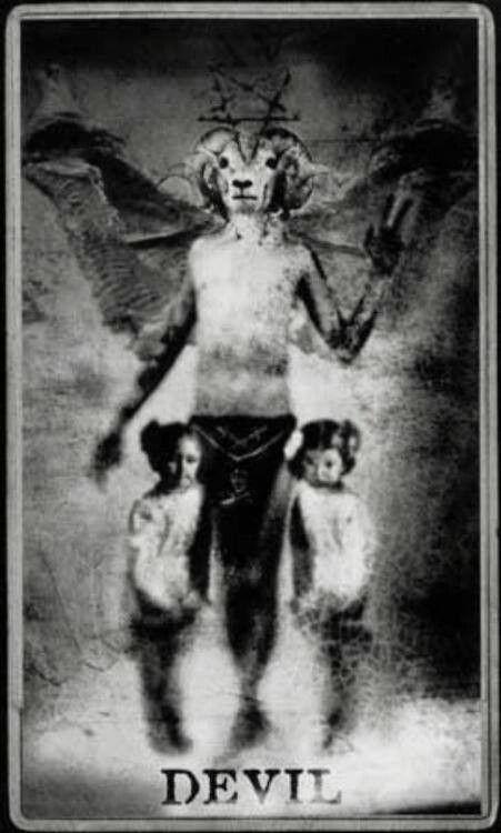 arquetipos del tarot diablo