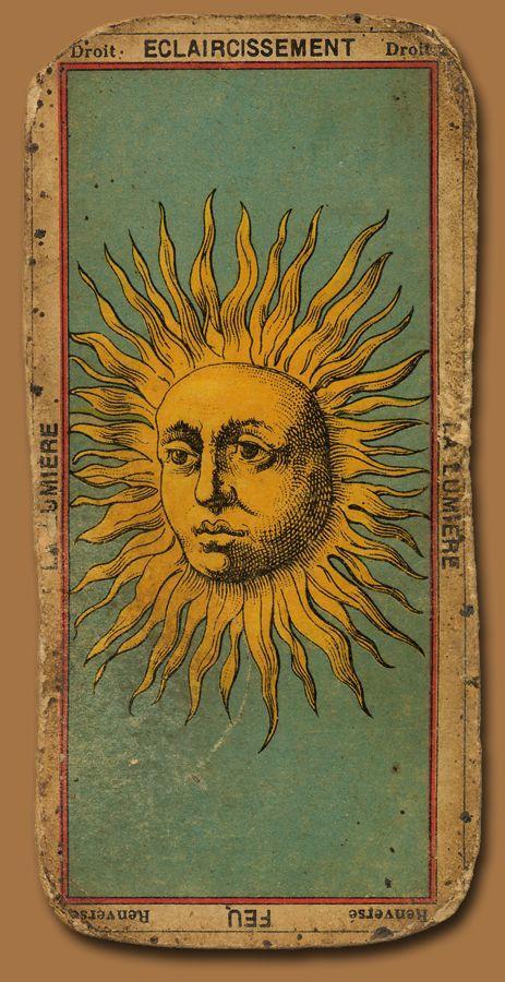 arquetipos del tarot sol