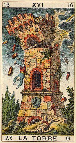 arquetipos del tarot torre
