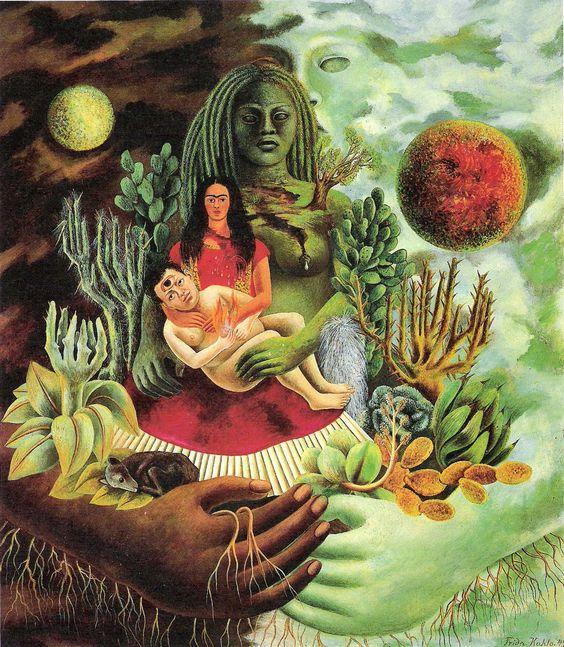 Instrucciones para ser más como Frida Kahlo por Frida Kahlo