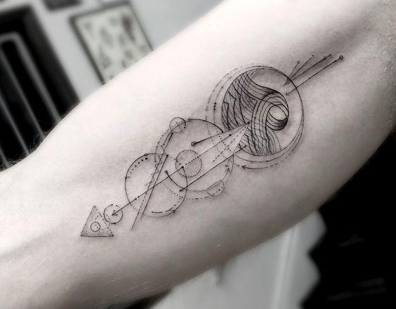 flechas  significado tatuajes