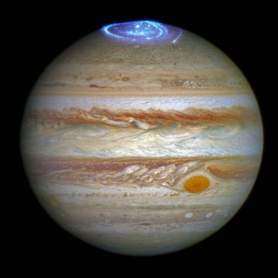 jupiter aurora sonda espacial Juno