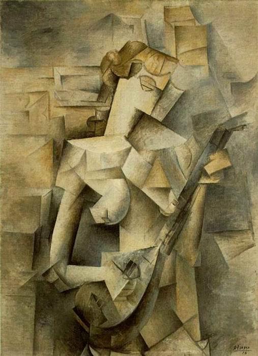 preguntas sobre el arte mujer con mandolina cubismo cronologia del arte mujer con mandolina cubismo cronologia del arte