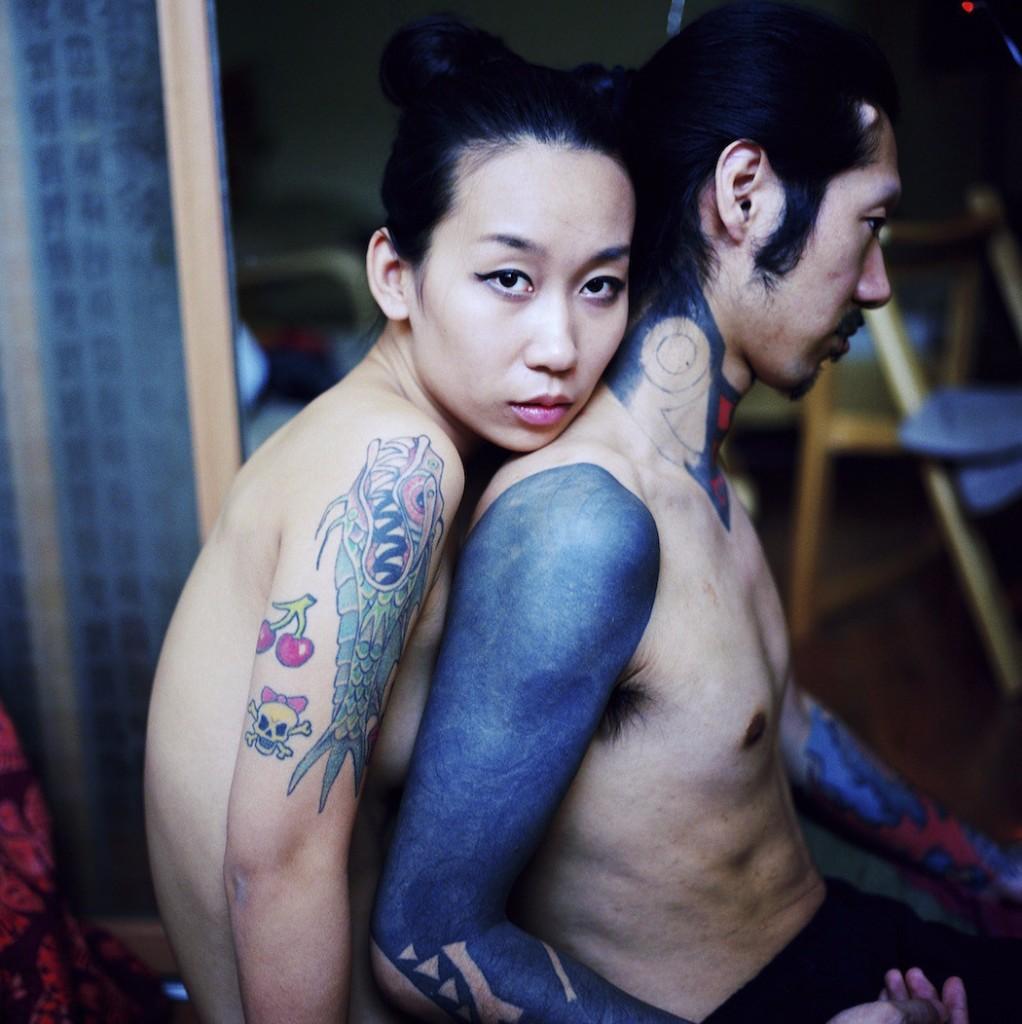 mujeres chinas tatuaje