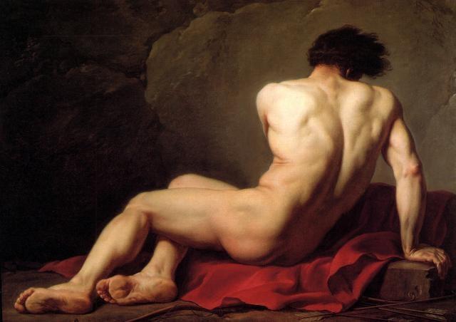 patroclo desnudos en el arte