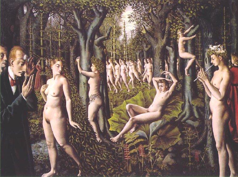 pinturas desconocidas delvaux