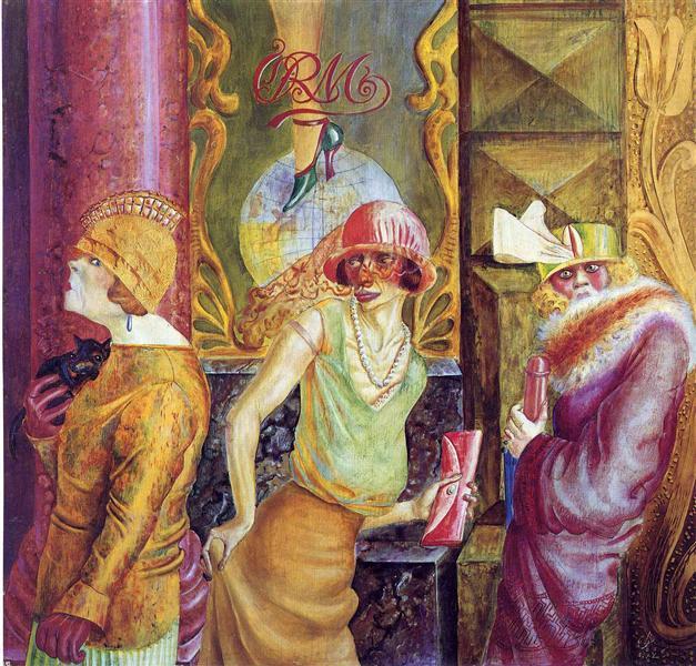 pinturas desconocidas otto dix