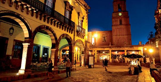 viaje mochilero / San Miguel de Allende
