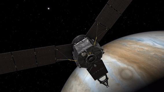sonda espacial Juno jupiter