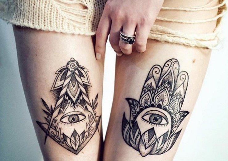 30 Hamsa Tattoos That Will Brighten Your Soul Generales