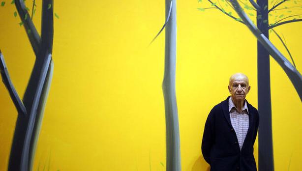 Alex Katz artistas contemporaneos mas importantes