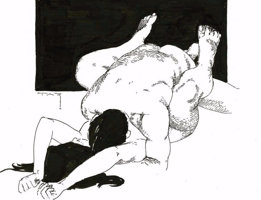 Eksplicit seksuelle illustrationer, der vil give dig fornøjelse-6266