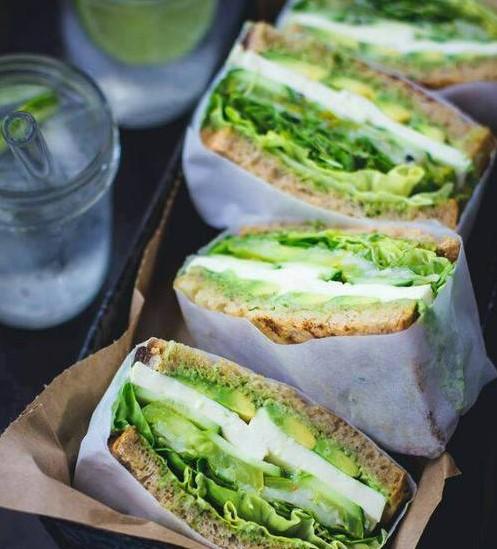 aguacate sandwich aumentar