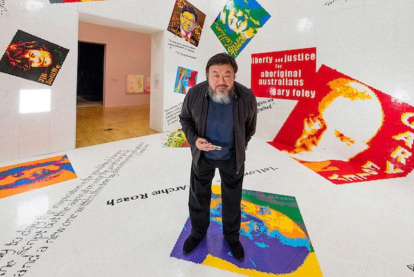 artistas contemporáneos más importantes ai wei wei
