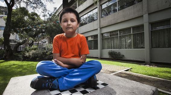 Escuela mexicana para niños genio