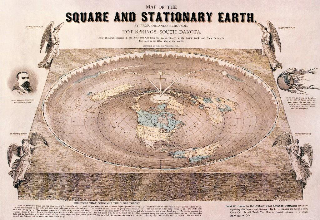 flat earth society plana