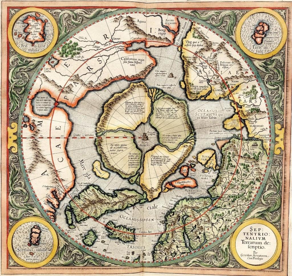 flat earth tierra mapa