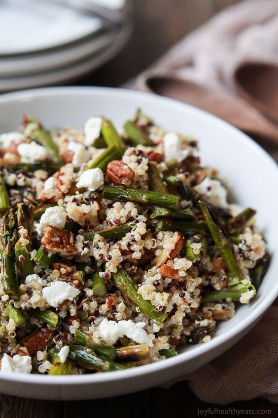ganar masa muscular quinoa