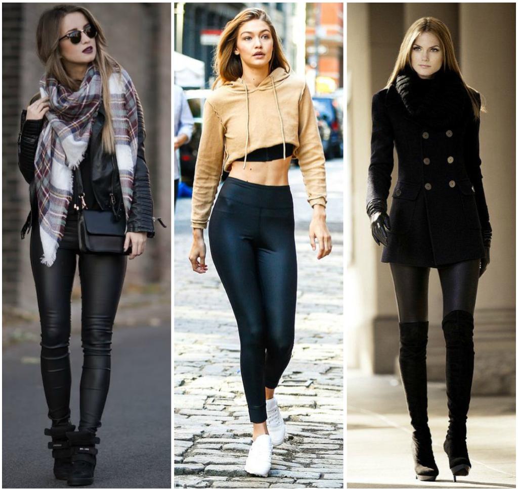 outstanding outfit vestido y leggins 10