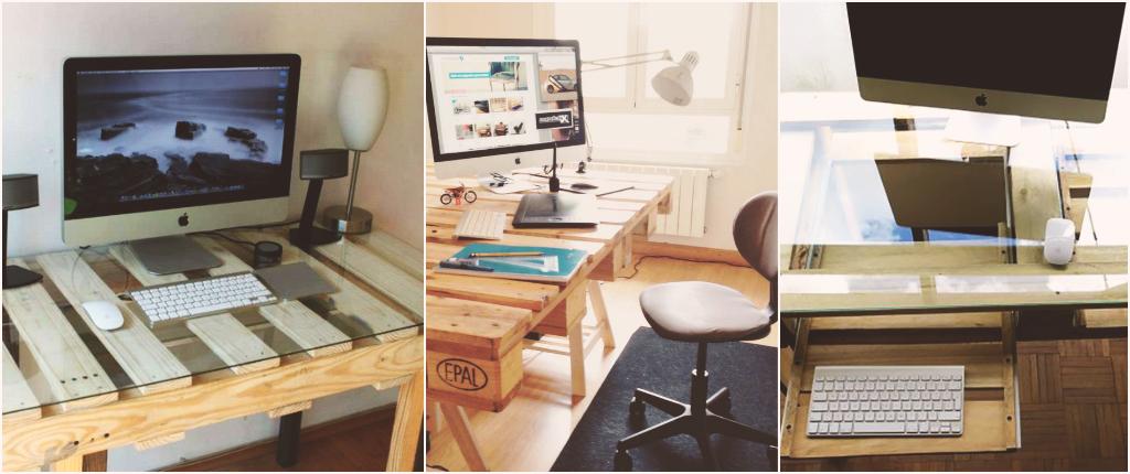 Ideas f ciles para crear el escritorio de tus sue os con for Ideas para escritorios