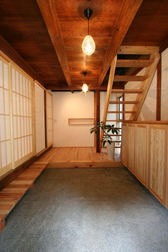 Ideas para decorar tu casa seg n el minimalismo japon s - Escalera japonesa ...
