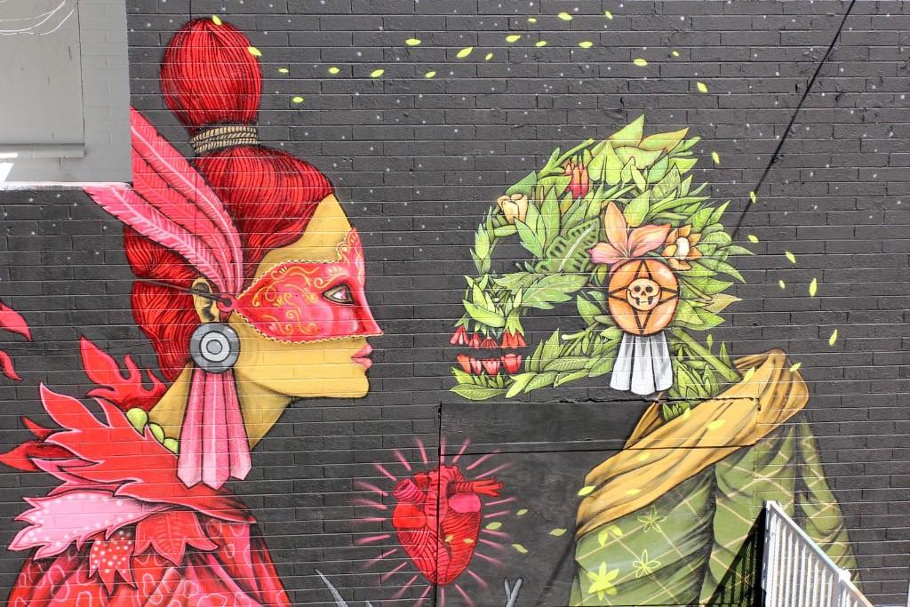 6 artistas que le quitan lo decadente a los muros de la for Arte mural mexicano