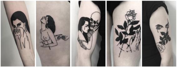tatuajes en negro
