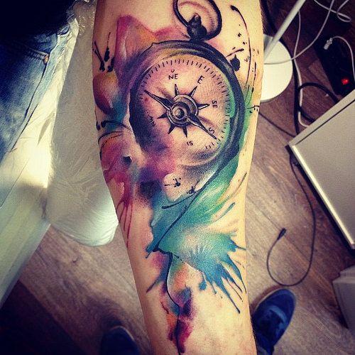 20 Originales Tatuajes De Acuarela Que Todos Querrán Tener Diseño
