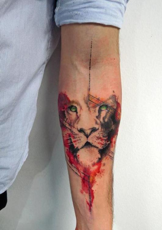 20 Originales Tatuajes De Acuarela Que Todos Querran Tener Diseno