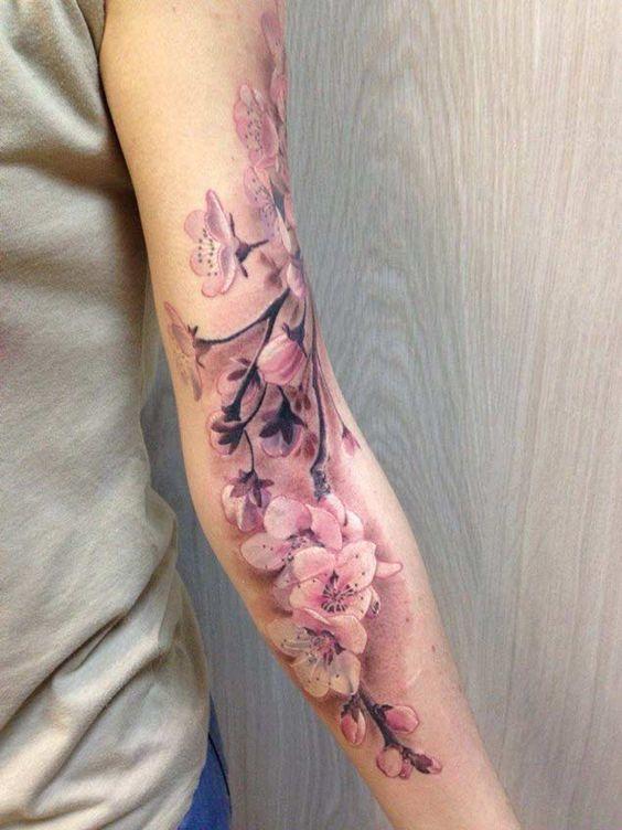 tatuajes populares cerezo