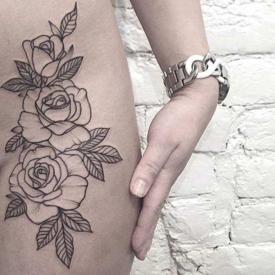 tatuajes populares rosas