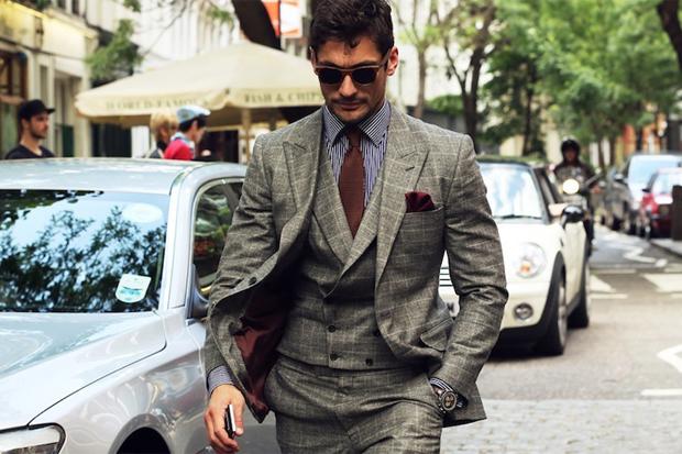 trajes de hombre con estilo
