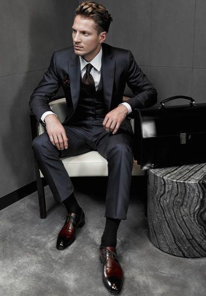 trajes de hombre reglas basicas