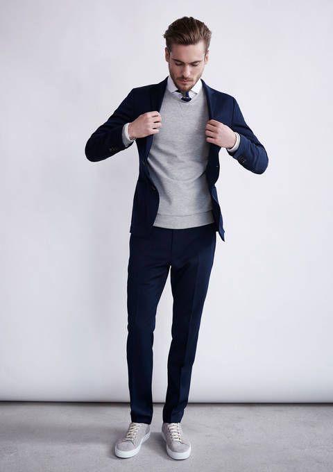 trajes de hombre reglas