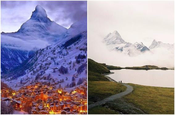 viaje por el mundo alpes suizos