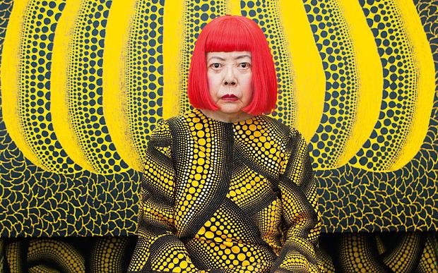 yayoi kusama artistas contemporaneos importantes