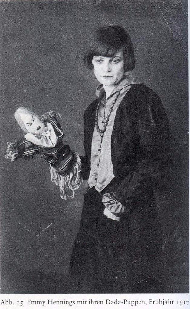 Dadaist women Emmy Hennings