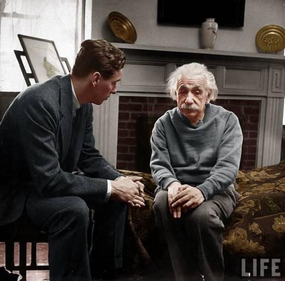 Einstein and Monroe albert
