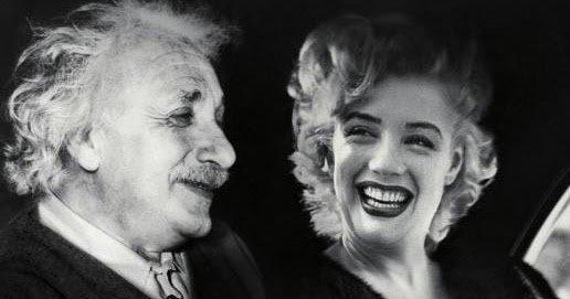 Einstein and Monroe