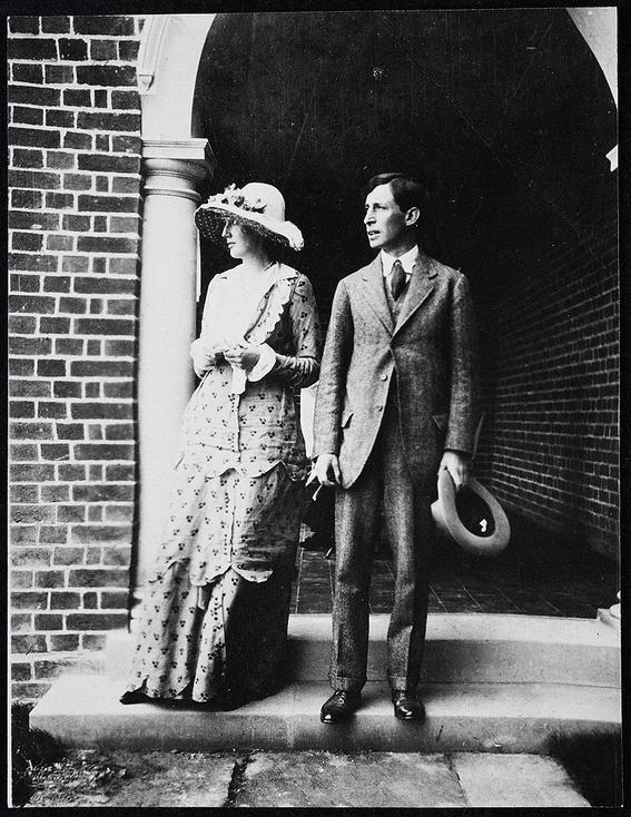 Virginia Woolf and Leonard