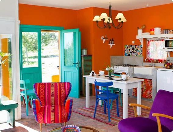 Consejos para decorar tu casa con un estilo mexicano y for Tipos de escaleras para casa habitacion