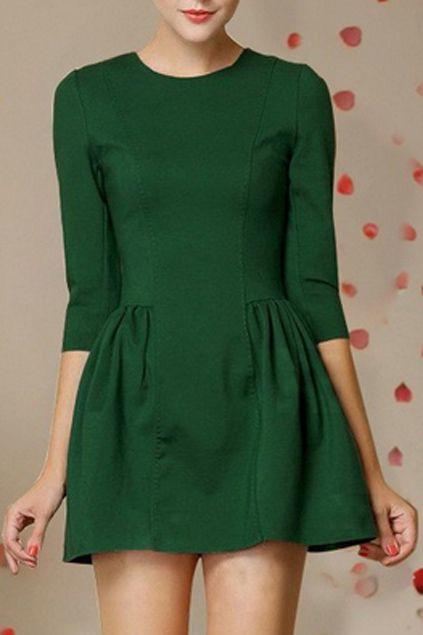 estilo de marilyn monroe verde