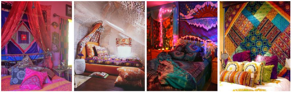 10 elementos para transformar tu habitaci n en un espacio for Decoracion estilo hindu