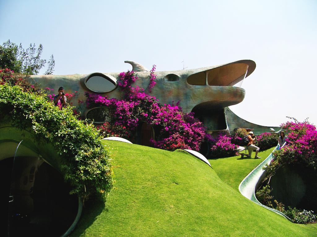 La casa orgánica de Javier Senosiain