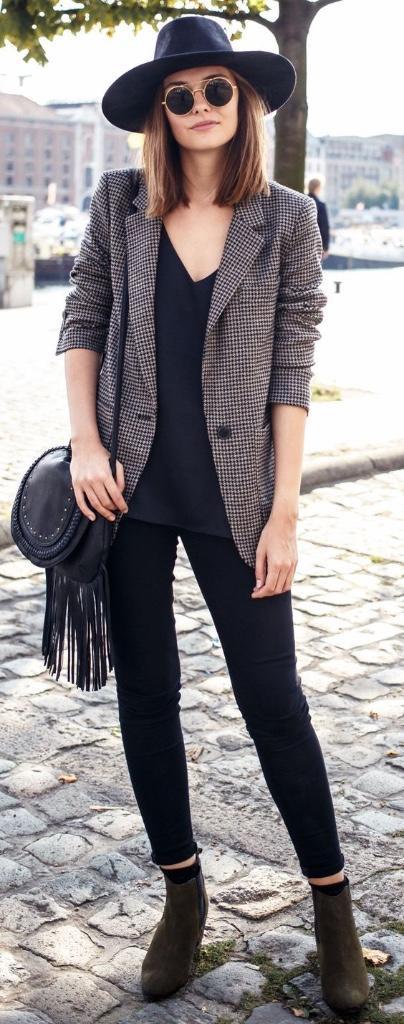 20 Formas En Las Que Una Mujer Sacaru00e1 Su Lado Mu00e1s Elegante Con Un Blazer - Moda