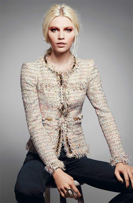 prendas chanel tweed