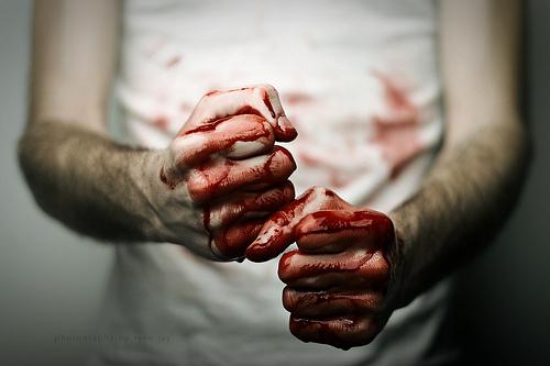 punos sangre escritores que mataron