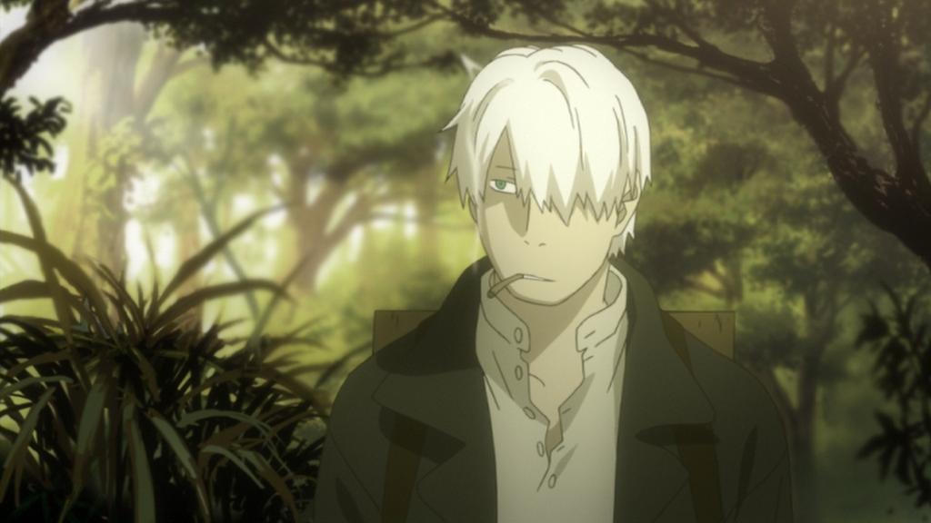 animes filosoficos mushishi