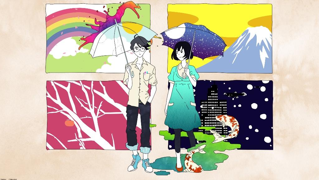 animes filosoficos the tatami galaxy